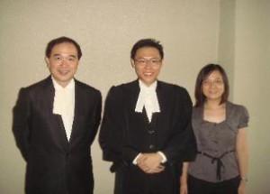 Foo Hiap Choong with Mr Alex Chang and Miss Jo Tan