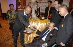 Tan Sri Arifin Zakaria Dato Vincent Ng Alex Chang