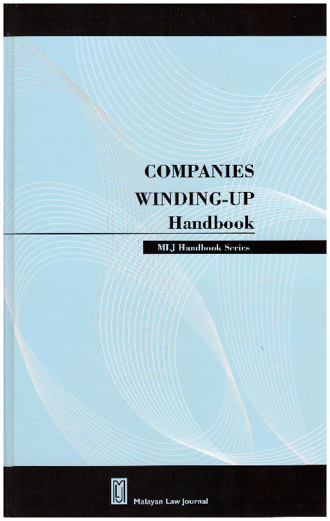 The Companies Winding Up Handbook 公司清盘手册