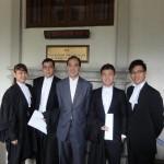 (L-R) Chuah Sui Cheing, Yeoh Khee Hing, Tan Eng Keat, Alex Chang and Ding Ming Shu