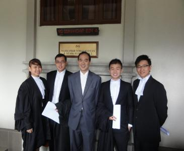 Admission to the Bar of Mr Tan Eng Keat