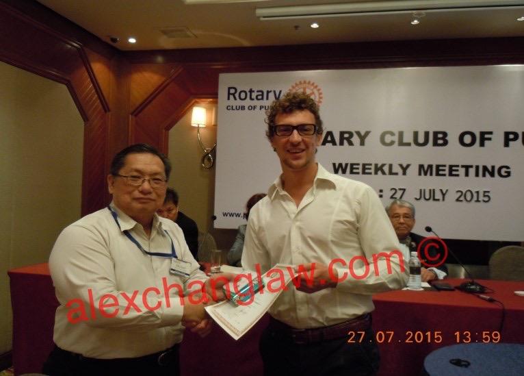 Pudu Rotary Speaker Riccardo Ferrarotti 20150727