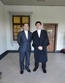 Admission to the Bar of Mr Kenneth Wong Kuok Weng
