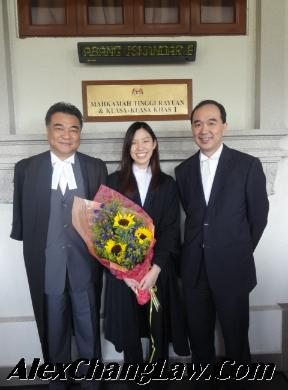 Admission to the Bar of Miss Koh Suan Suan