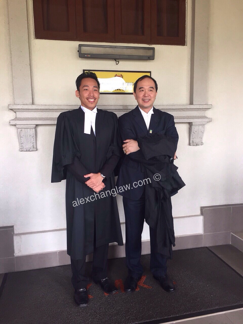 Admission to the Bar of Gary Au Kar Meng Long Call