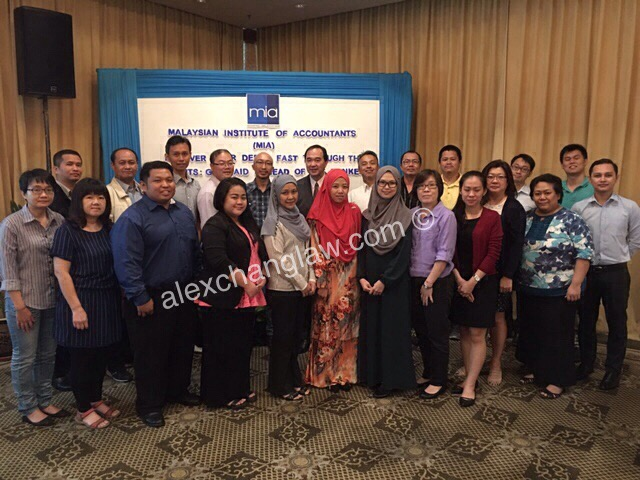 Malaysian Institute of Accountants Seminar in Kota Kinabalu 2016