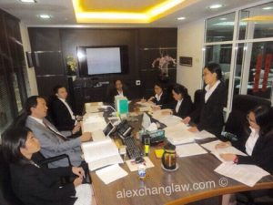 Moot Court at Alex Chang & Co