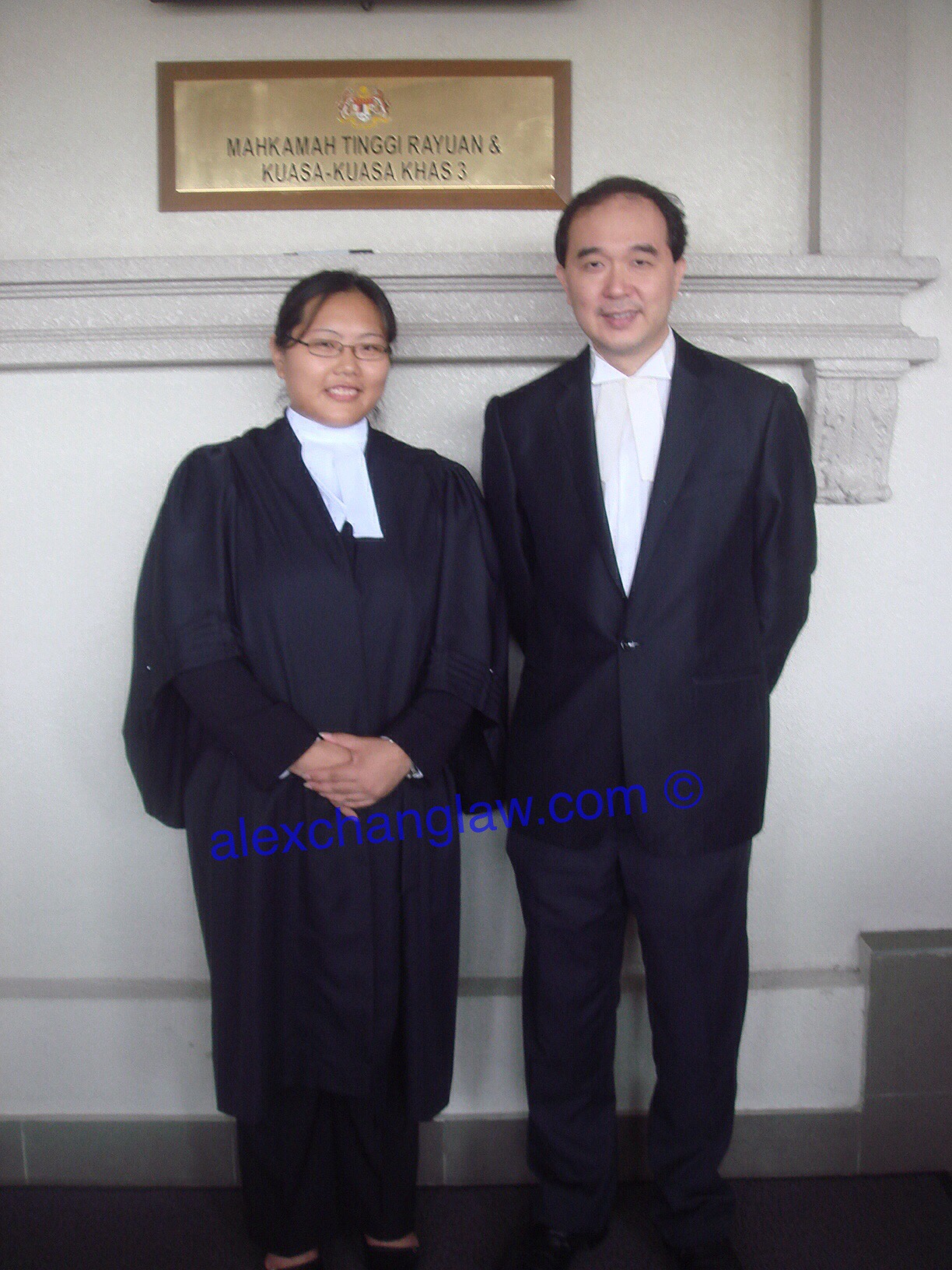 Admission to the Bar of Diana Ling Fan Phing Long Call