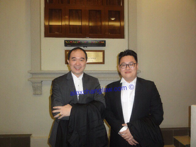 Admission to the Bar of Ng Andrew Hoong Ru Long Call