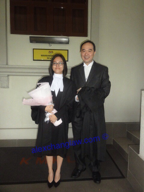 Admission to the Bar of Joanne Hee Pik Yee Long Call