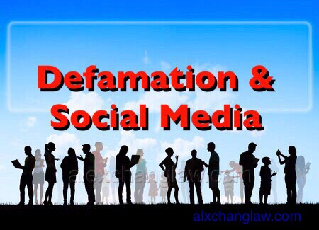 5 Legal Tips for Defamation in  Facebook Social Media