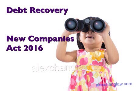 The New Companies Act 2016 Judicial Manager Corporate Voluntary Arrangement Debt Recovery