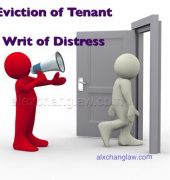 Distressed Over Defaulting Tenants A Happy a Landlord Edward Lee