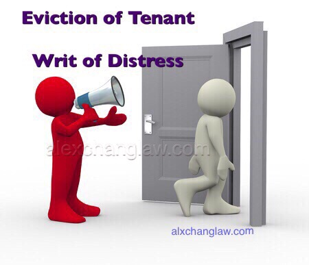 Eviction-Tenant-Writ-Distress