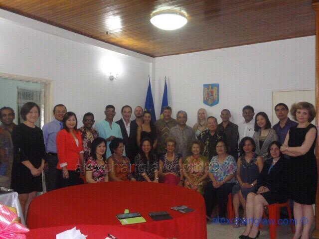 Romanian Night Rotary Club of Pudu 2013/ 14