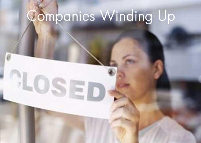 Companies Winding Up