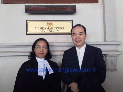 Admission to the Bar of Noor Izzatie binti Zainol Kuala Lumpur Malaysia Long Call